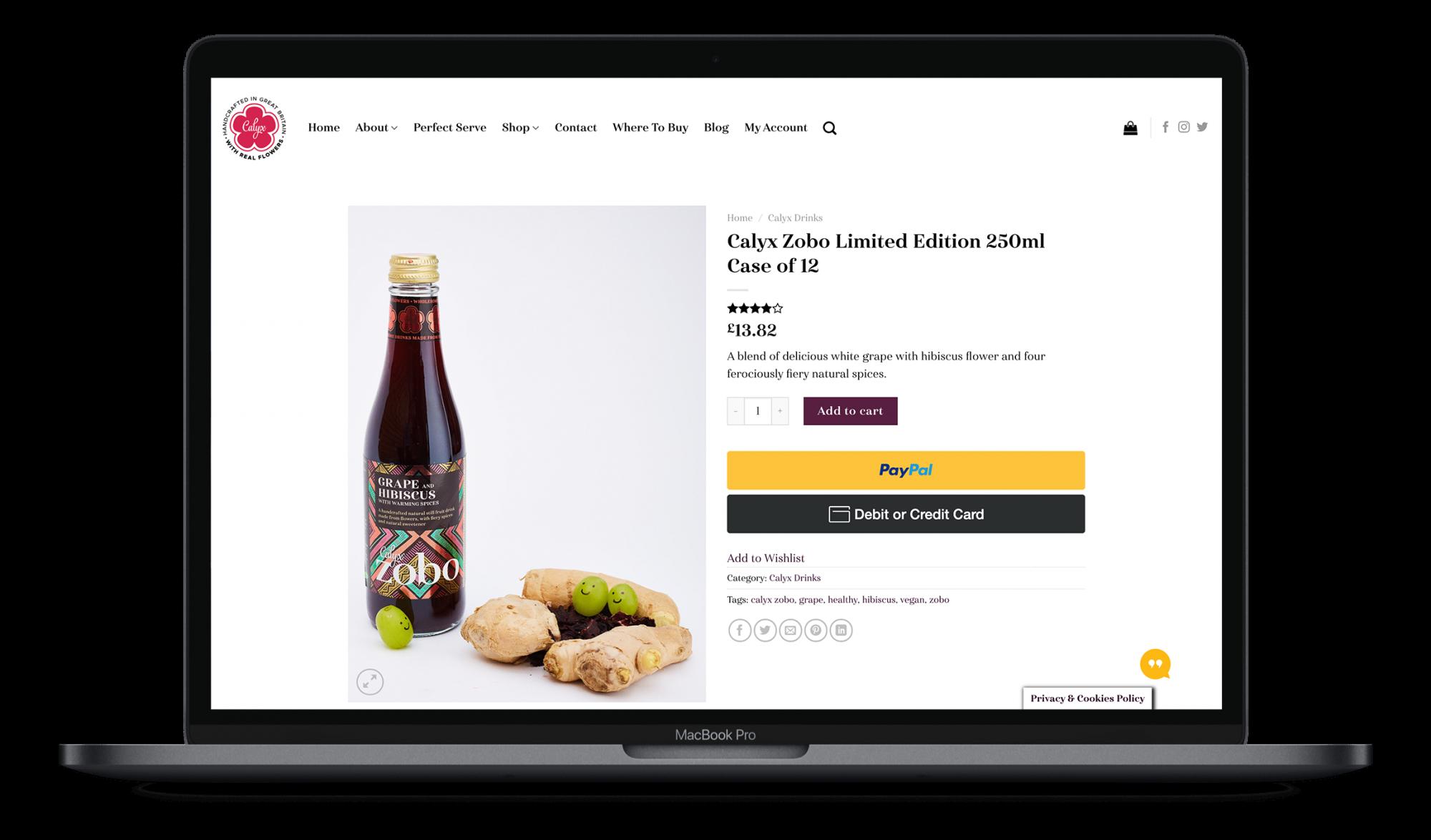 ecommerce web design clitheroe