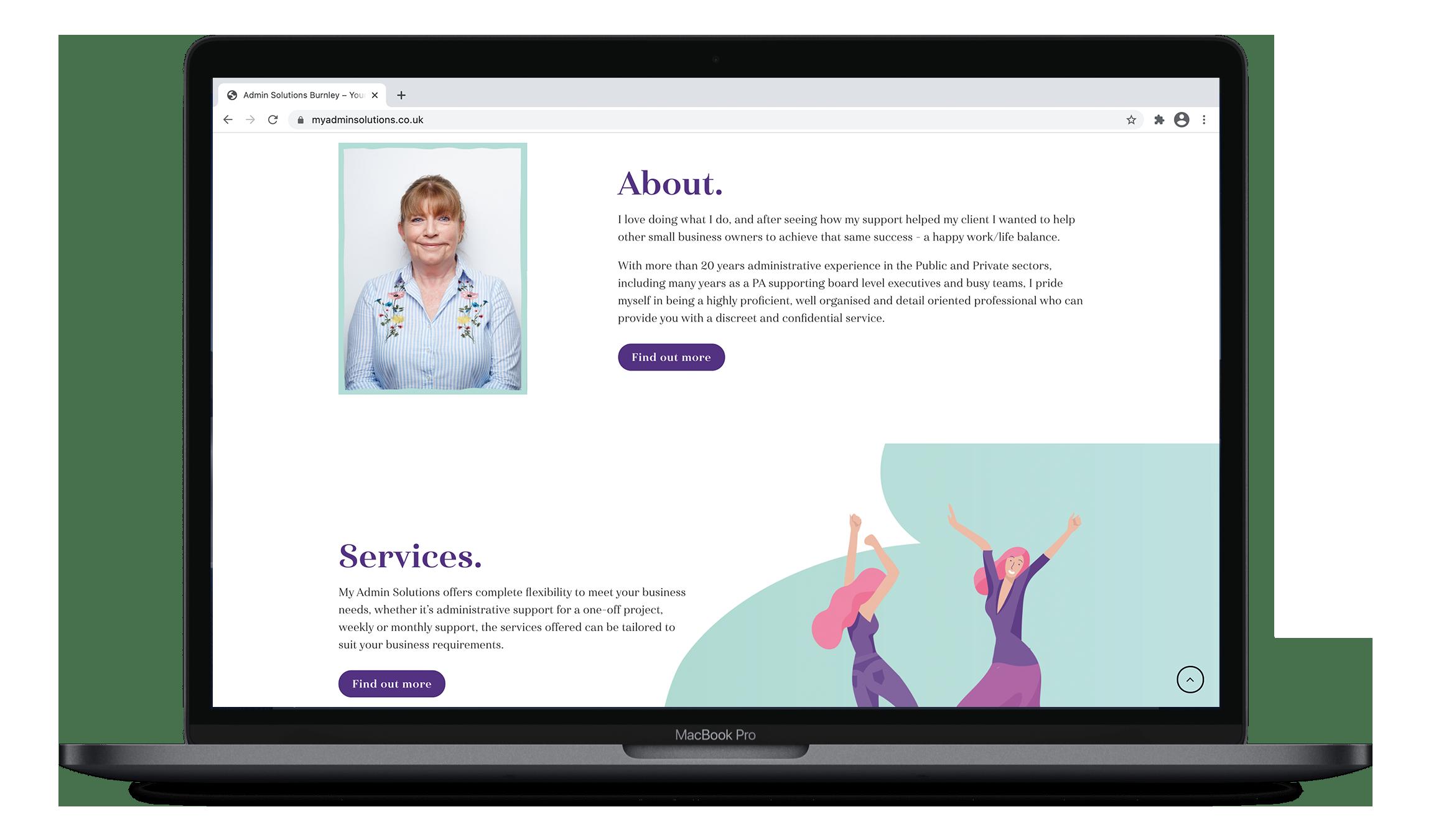 website design ribble valley callit creative mock up 11