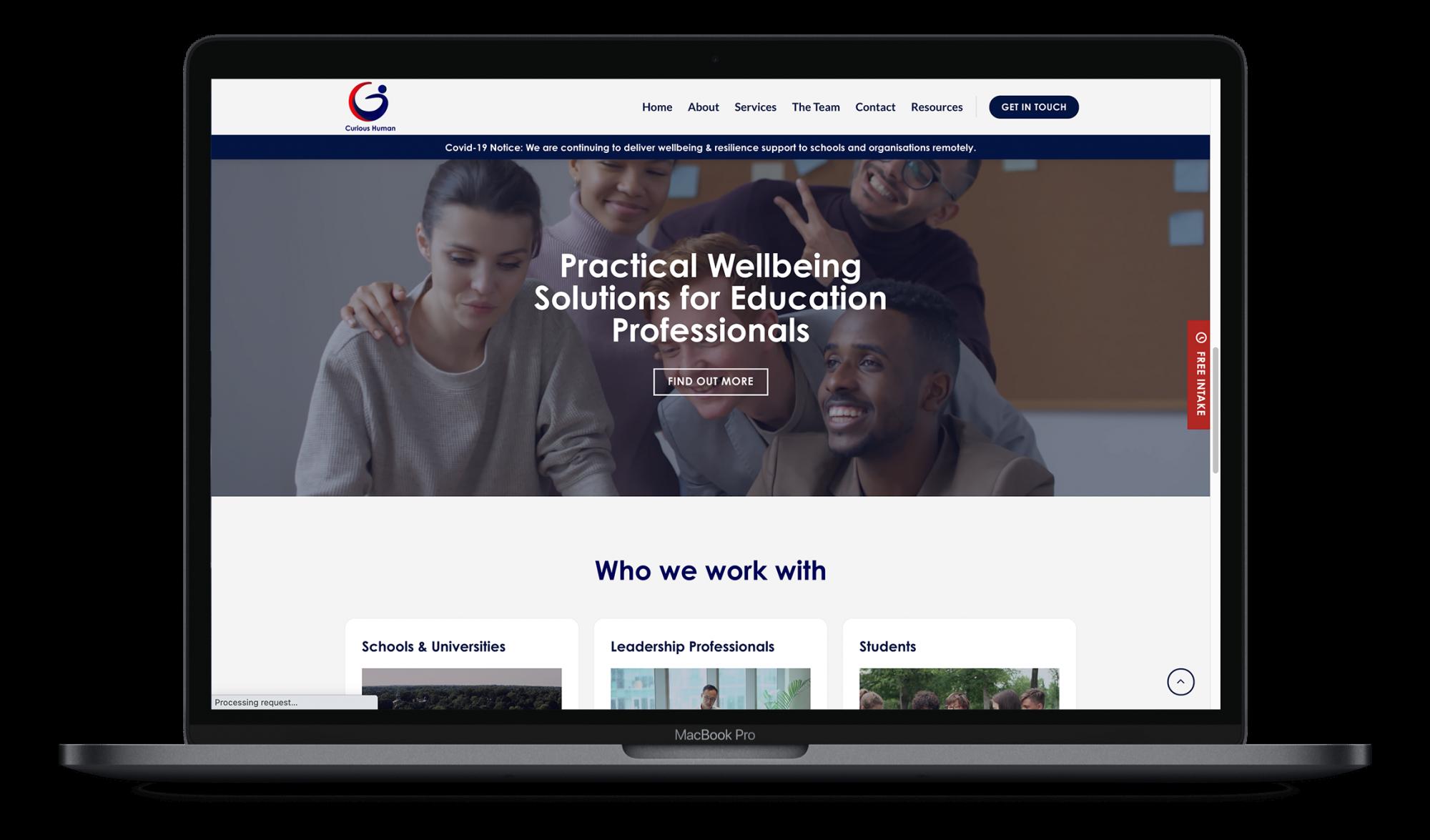 website design ribble valley callit creative mock up 408